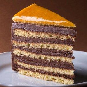 Dobos torta szelet