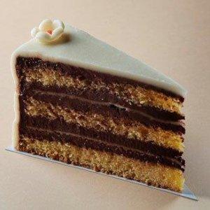Marcipán torta szelet