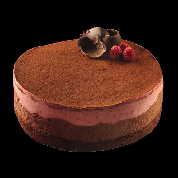 Csoki-eper mousse torta